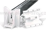 Držák nosných lišt DIN 35 nastavitelný DR2