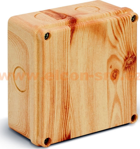 Rozvodná krabice Elcon IP65 K100-2.19 C3 borovice prolis